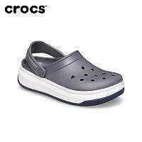 Сабо Crocs Crocband Full Force Clog серо-белый