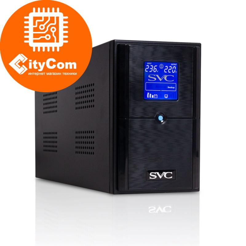 Источник Бесперебойного питания UPS SVC V-1500-L-LCD, AVR стабилизатор