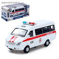 Машина металлическая «Спецслужбы», открываются двери, инерция, свет, звук, МИКС