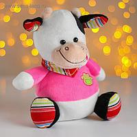 Мягкая игрушка «Бычок в розовом»