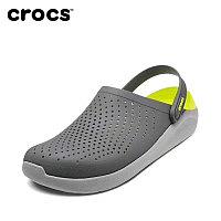 Сабо Crocs Crocband LiteRide серо-желтый
