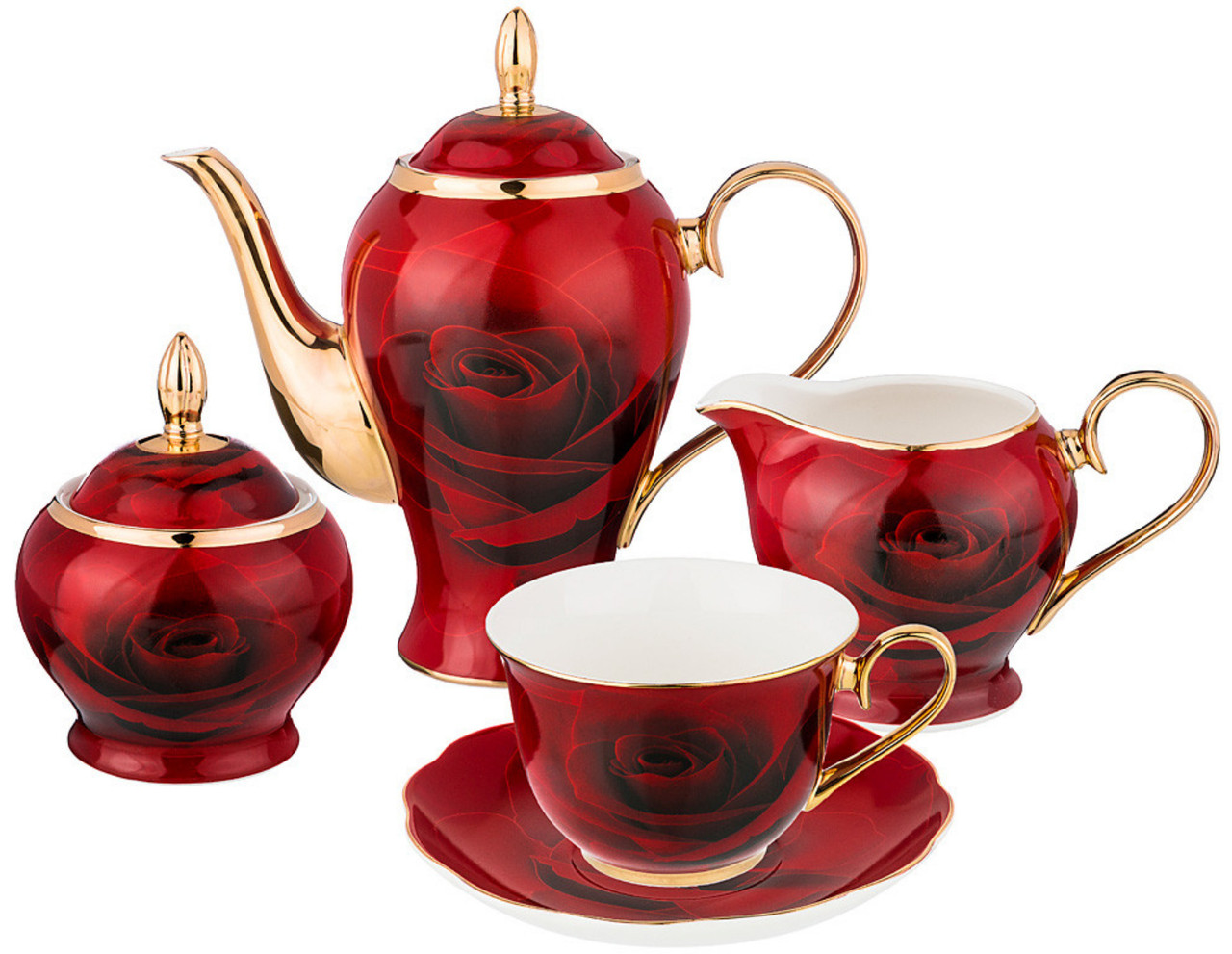 Набор чайный Lefard Кармен 15 предметов на 6 персон