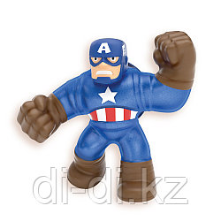 Тянущаяся фигурка Гуджитсу Супергерои: Капитан Америка GooJitZu