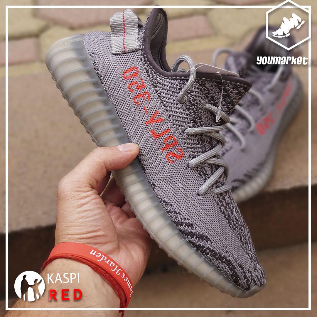 """Кроссовки Adidas Yeezy Boost 350 Vol 2 """"Beluga"""" - фото 3"""