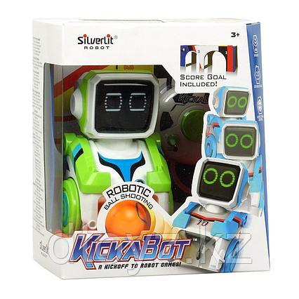 Робот-футболист - Кикабот, зелёный