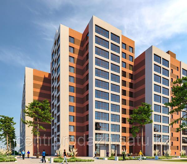 2 комнатная квартира в ЖК Brussel 60.5 м²