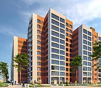 2 комнатная квартира в ЖК Brussel 60.5 м², фото 1