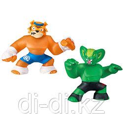 Игровой набор тянущихся фигурок Гуджитсу «Тайгор и Вайпер»