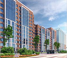 1 комнатная квартира в ЖК  Brussel 2 44.58 м²