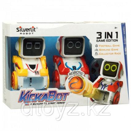 Двойной набор роботов футболистов из серии Кикабот