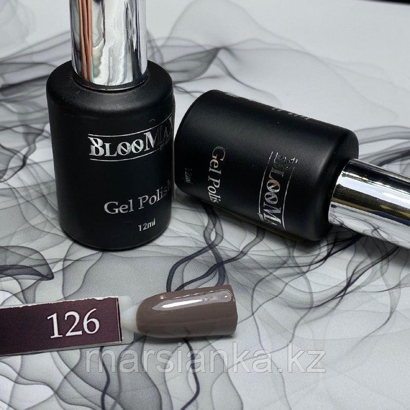 Гель лак BlooMax №126 с ароматом клубники, 12 мл