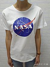Футболка NASA белая