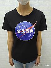 Футболка NASA чёрная