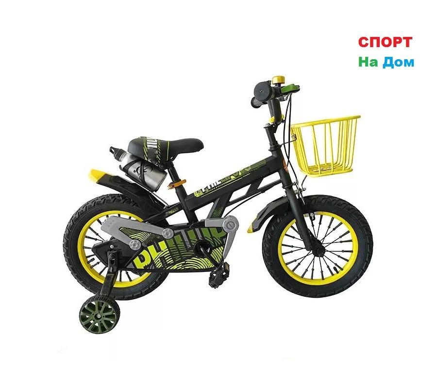 Велосипед детский Phillips с корзиной на 3-4 года