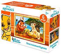 Пластмассовые кубики «Король Лев» Disney (6 шт), фото 1