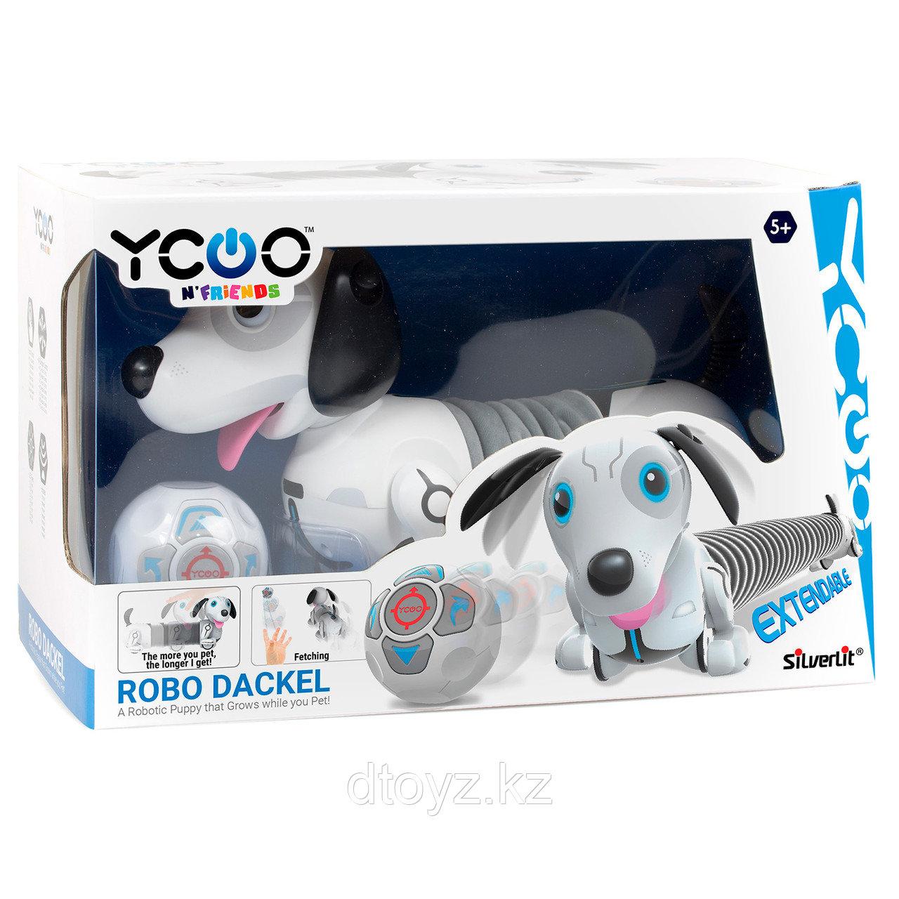 Интерактивная игрушка-робот - Собака Дэкел