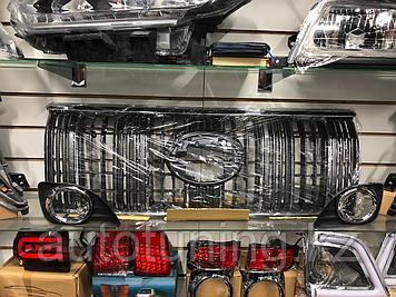 Решетка радиатора от полной комплектации на Land Cruiser Prado 2018 г. и выше