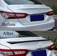 Спойлер на крышку багажника S Edition Toyota Camry 70 2018+