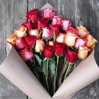 Букет из 25 роз (микс)