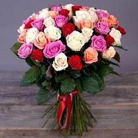 Букет из 31 розы (микс)