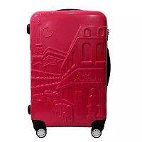 Женский чемодан с сумкой