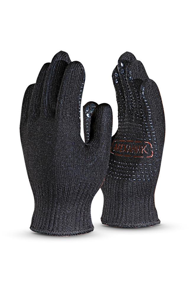 Рабочие черные перчатки в Алматы