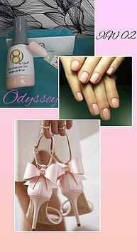 Гель лак aora от odyssey nail system xw02
