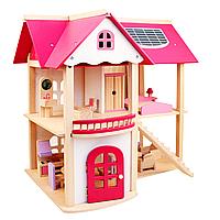 Кукольный домик Pink Doll House
