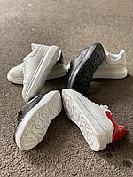 Кеды белые с красн Alexander McQueen, фото 1