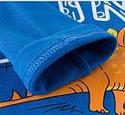 Кофта детская, с динозавром, цвет синий, фото 2