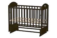 ВЕДРУСС Кровать детская ИРИШКА-7 маятник без ящика, сердечко