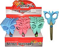 Ножницы детские (бабочки) пластик. С2060
