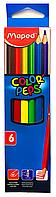 Карандаши цветные Maped (6шт)