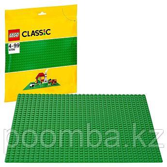 Конструктор LEGO - ЛЕГО Classic Классик Строительная пластина зеленого цвета