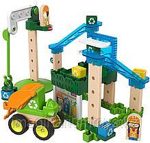 Конструктор детский с элементами из дерева «Центр утилизации» Fisher-Price Wonder Makers