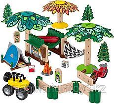 Конструктор для детей с элементами из дерева «Пикник» Fisher-Price Wonder Makers