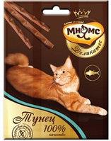 Лакомство Мнямс Деликатес лакомые палочки для кошек с тунцом