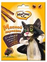 Лакомство для кошек Мнямс Мясной карнавал Лакомые палочки индейка и ягненок, фото 1