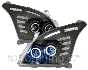 Альтернативная передняя оптика (тюнинг передние фары) на TLC Prado 120 2002-2009