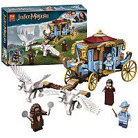 Конструктор LARI Justice Magician Карета школы Шармбатон арт. 11347 (Аналог LEGO Harry Potter 75958)