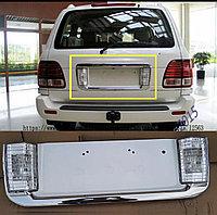 Задний подномерник на Lexus LX470 2005-07, фото 1