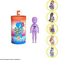 Кукла Челси меняющая цвет в воде Barbie Chelsea Color Reveal летняя серия, фото 1