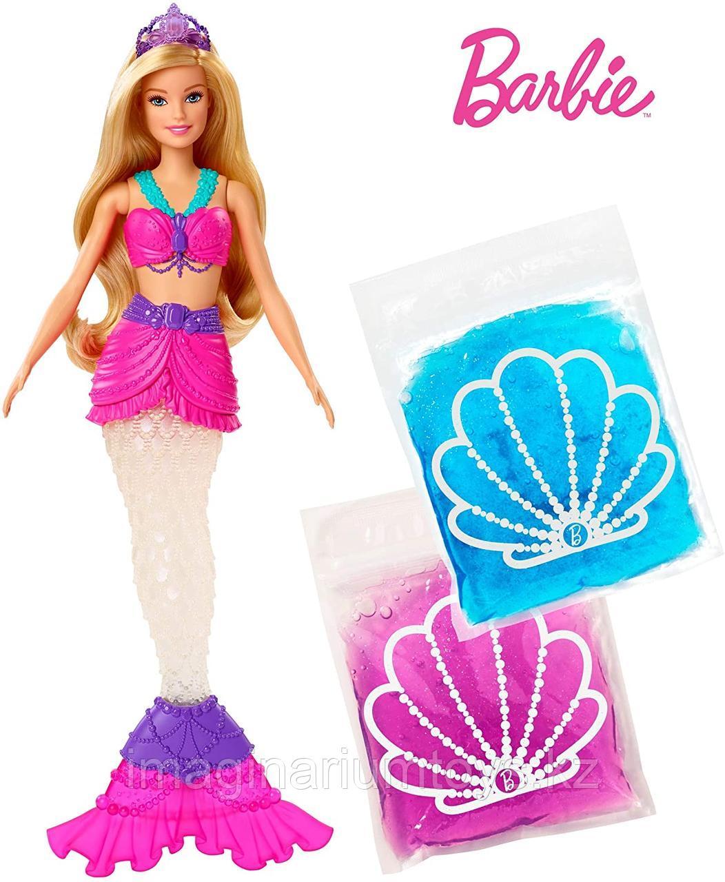 Кукла Barbie Барби Русалка со слаймом