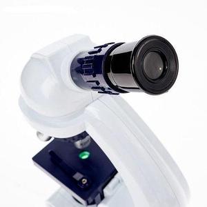 Микроскоп с увеличением до 450 раз «Юный биолог» с набором аксессуаров и окуляров