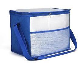 Сумка-термос на молнии с наружным карманом SANNE 8635 [26 литров] (Синий), фото 3