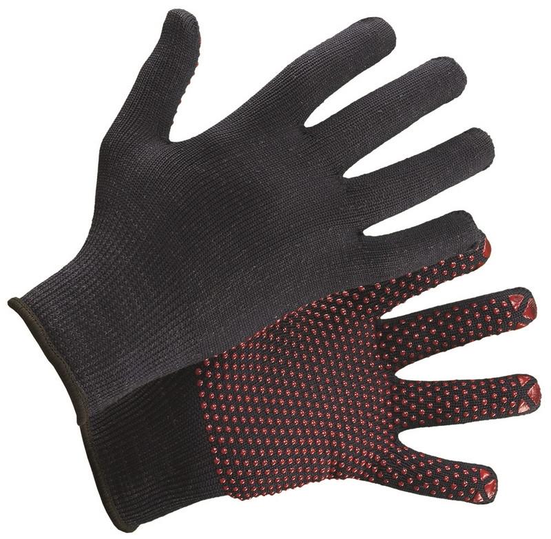 Перчатки трикотажные с точечным пвх в Алматы