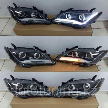 Альтернативная оптика дизайн AUDI на Тойота Камри 50 2011-2014 г.