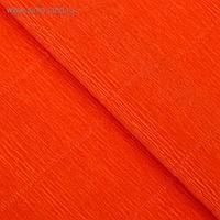 """Бумага гофрированная, 17E/6 """"Ярко-оранжевая"""" , 0,5 х 2,5 м"""