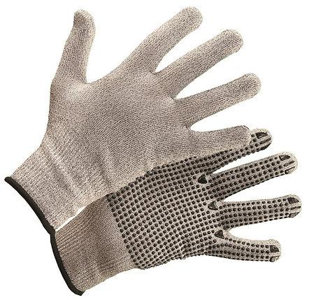 Перчатки из высокополимеризированного волокна с покрытием ПВХ-Точка, фото 2