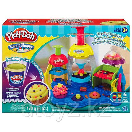 """Hasbro Play-Doh Игровой набор пластилина """"Фабрика пирожных"""""""